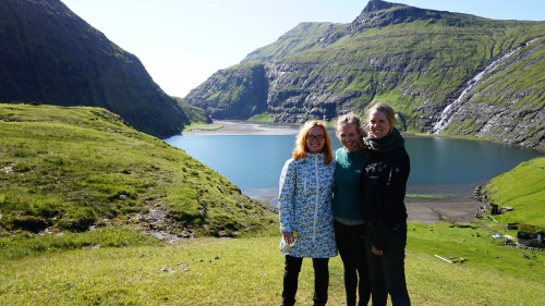 Trio Estera on the Farao Islands
